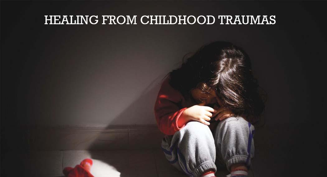 Kid surfing from childhood trauma